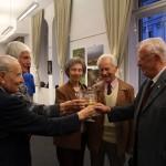 Török Gáspár kiállításának megnyitóján, Magyarság Háza, 2014.10.22. (Photo: Eifert János)