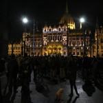 Közfelháborodás napja, kormányellenes tüntetés a Kossuth-téren, 2014.11.17. (Photo: Eifert János)