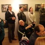 Vajda János kiállítása a Cultiris Galériában,  2014.11.19. (Eifert János felvétele)