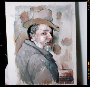 Farkas Antal jama: Önackép kalapban, 1987