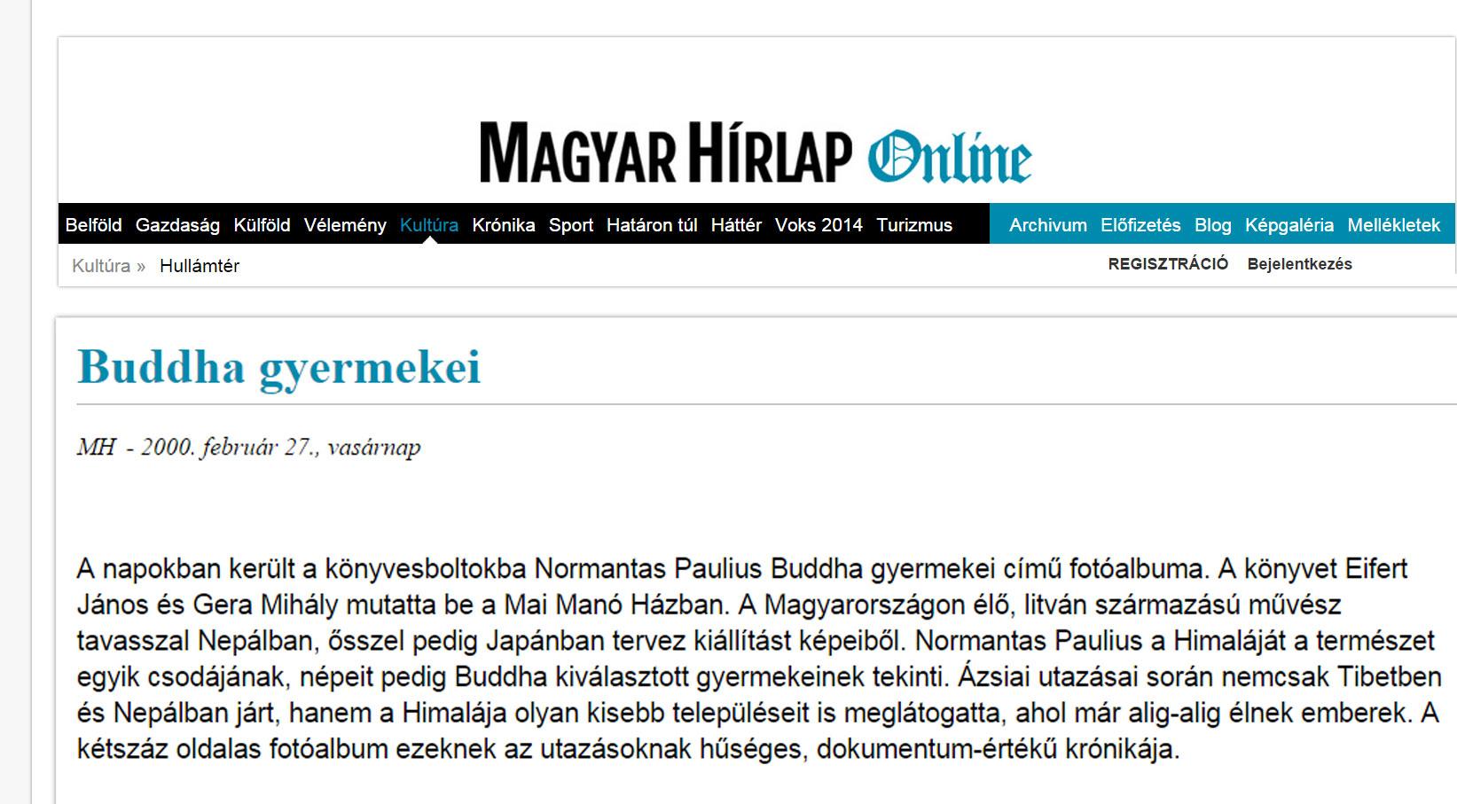 2000.02.27.-Magyar-Hírlap_Buddha-gyermekei