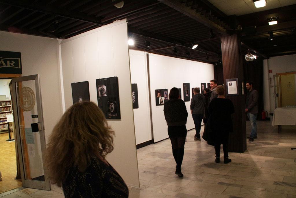 Papp Károly és Németh István kiállítása, BMK, 2015.01.12. (Vadócz Zsuzsa felvétele)
