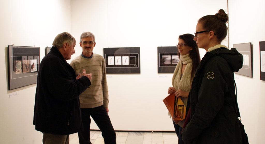 Kiállításmegnyitó. BMK, 2015.01.12. (Vadócz Zsuzsa felvétele)