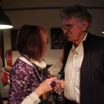 L. Horváth Katalin Újlaki Dinivel beszélget (Eifert János felvétele)