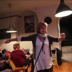 Móger Ildikó táncol (Eifert János felvétele)
