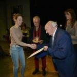 04 A 80 éves Chochol Károly a MAOE díját ad át_Ravasz Balázs felvétele