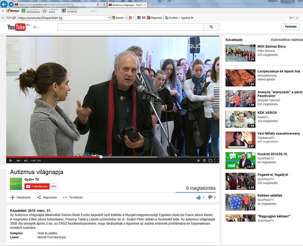2015.03.31.-Győri-TV_Autista-Világnap-Daniss-Bodó-Eszter-kiállítása