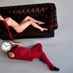 """Így tartsd az órát! Eifert """"előjátszik"""" Müller Fannynak (Morvai Tamás felvétele)"""