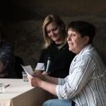 2015.05.19.-Keleti Éva, cseke Csilla (MTI), Szarka Klára fotótörténész, a beszélgetés moderátora (Eifert János felvétele)