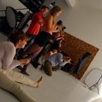 A SideLight Photo Stúdióban (Olasz Ági felvétele)