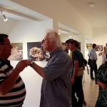 """2015.08.28. A """"Konyhaművészet 1990-2006"""" kiállításmegnyitóján (Eifert János felvétele)"""