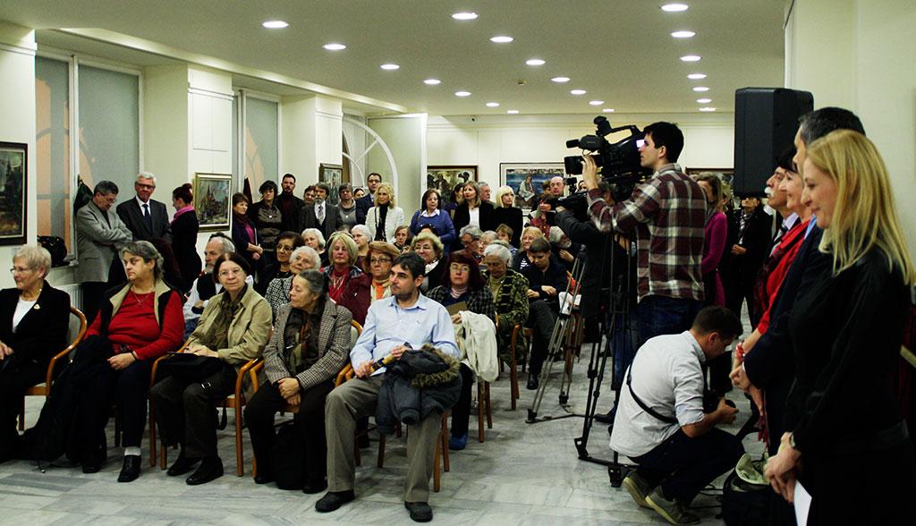 2015.10.14.-Fodor-József-emlékkiállítás-megnyitóközönsége (Eifert János felvétele)