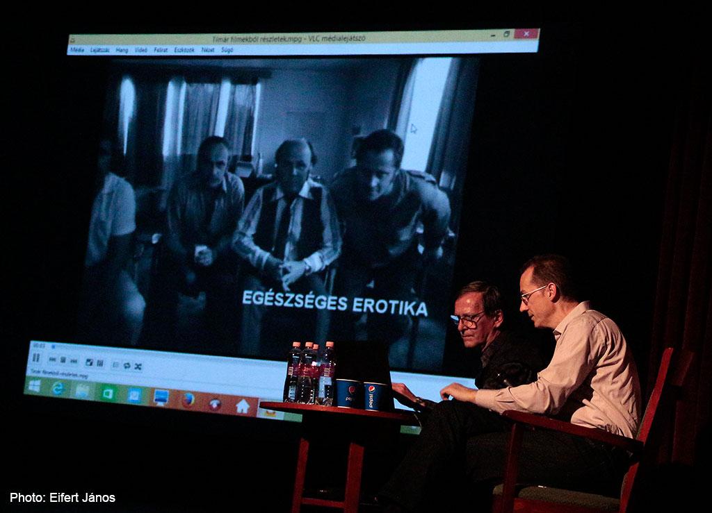 2015.11.18.-Tímár-Péter-filmrendező-előadása-az-Erzsébetligeti-Színházban (Photo: Eifert János)