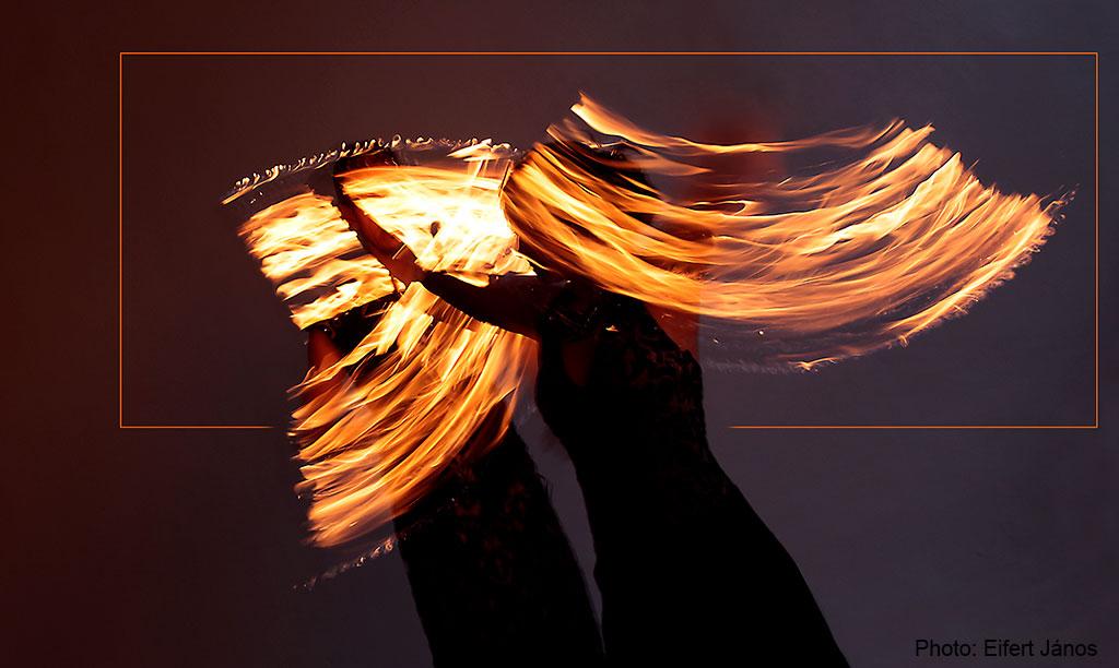 """2015.11.21.-Modern tűztánc Téglás Krisztina """"Haalima"""" közreműködésével (Photo: Eifert János)"""