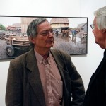 2015.11.30. Artphoto Galéria, Albertini Béla és Haris László (Eifert János felvétele)
