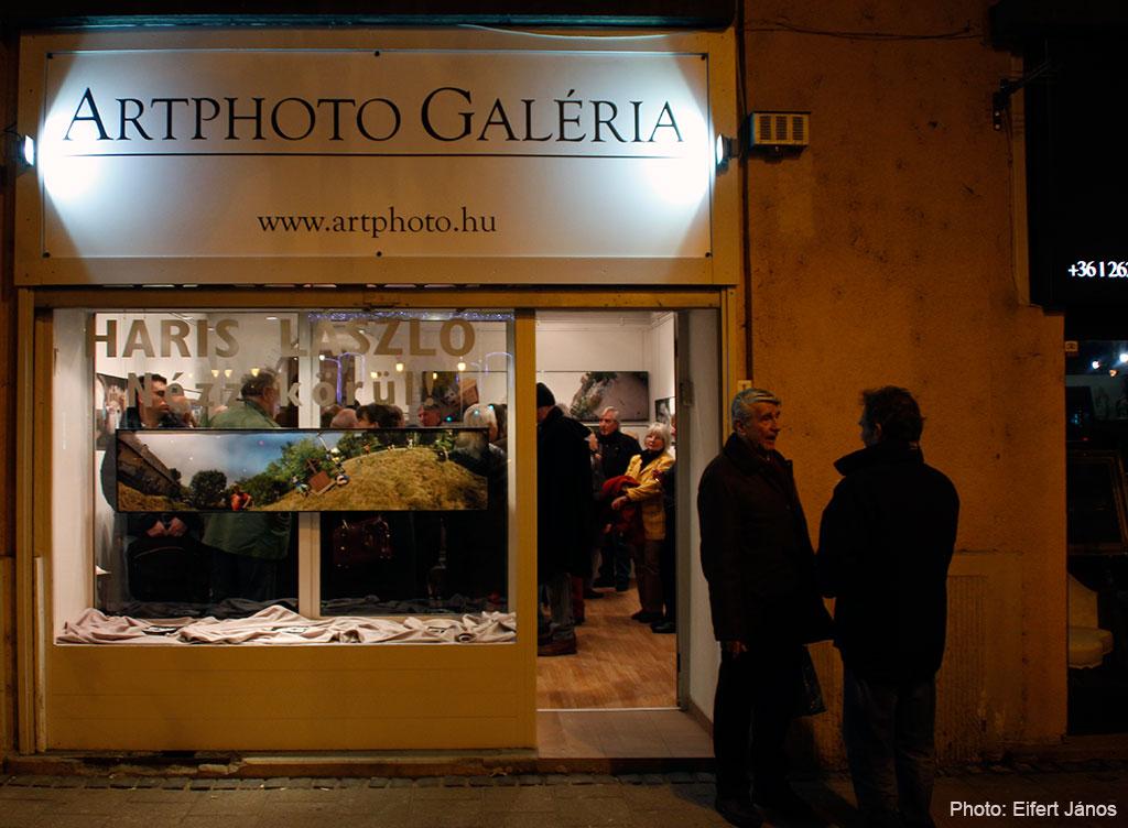 2015.11.30. Artphoto Galéria, Haris László kiállításának megnyitóján (Eifert János felvétele)