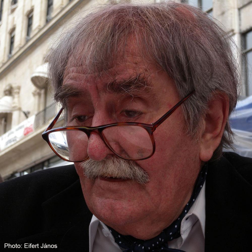 Juhász Ferenc költő, 2012 (Eifert János felvétele)