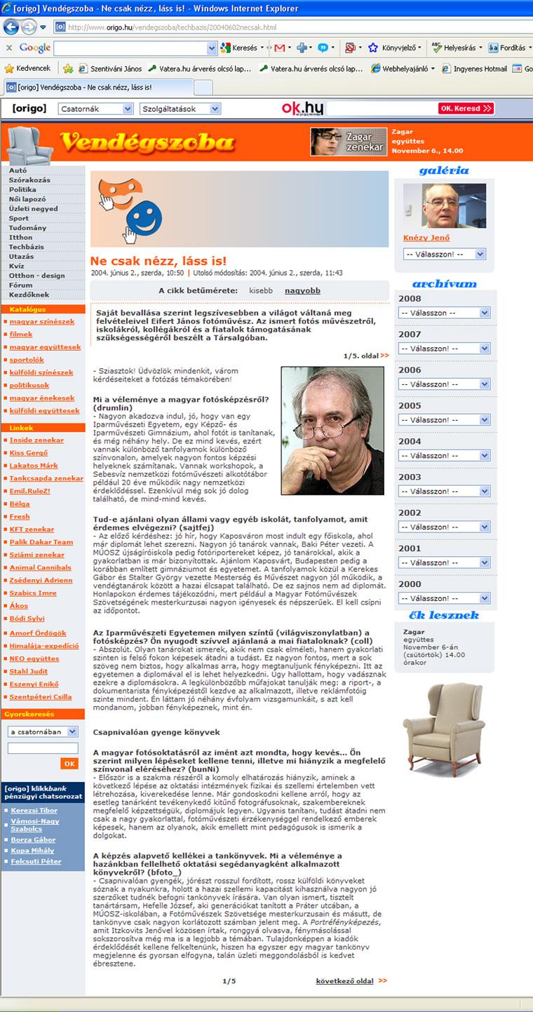 2004.06.02. origo.hu-vendégszoba-Eifert