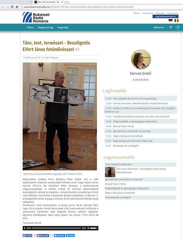 2016.01.19.-Bukaresti-Rádió-Románia_Tánc-test-természet-Beszélgetés-Eifert-Jánossal