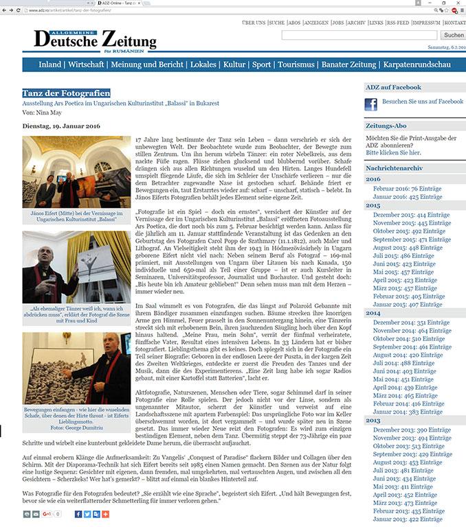 2016.01.19.-Deutsche-Zeitung-für-Rumanien_Tanz-der-Fotografien