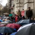 2016.02.13.-Kossuth-tér-Tüntetők-a-Néprajzi-Múzeumnál (Eifert János felvétele)