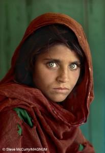 Steve McCurry_Afgán-lány
