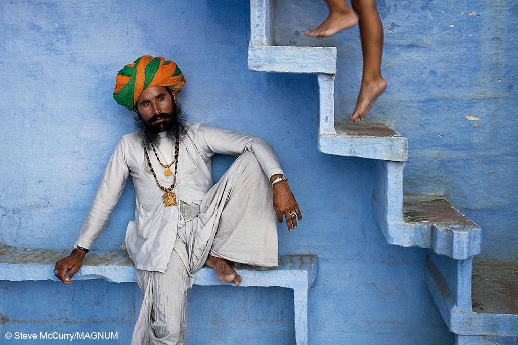 Steve McCurry_The Secret Reveler