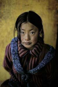 Steve McCurry_Tibeti lány