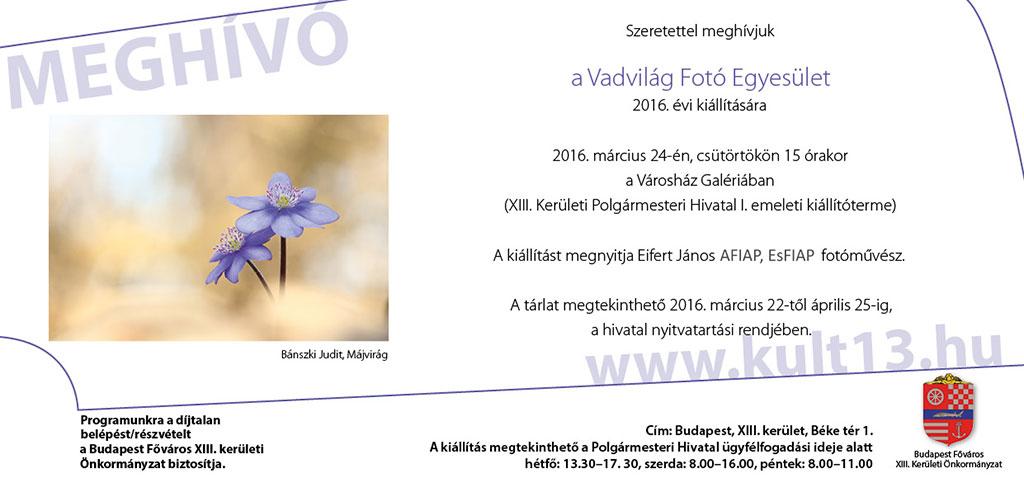 2016.03.24.-Városház-Galéria_Vadvilág-Fotó-Egyesület-kiállítása_meghívó