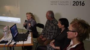 2016.05.18.-Műcsarnok-pódiumbeszélgetés_Lőrinc-Kati-Eifert-János-Lanszki-Anita-Szűcs-Réka