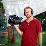 2016.08.17.-Harangozó Vince, az ECHO-TV operatőre (Eifert János felvétele)