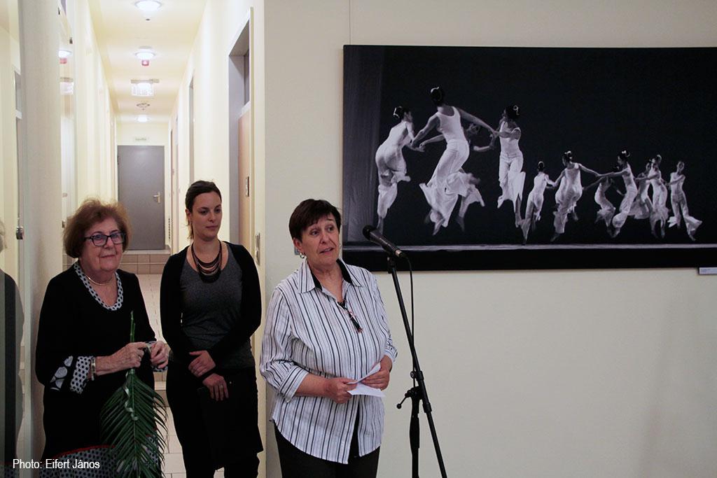 2016.10.12.-Keleti-Éva-kiállítását-Szarka-Klára-nyitja-meg (Eifert János felvétele)