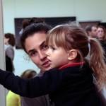 2016.10.12.-Keleti-Éva-kiállításmegnyitón-Németh-unoka (Eifert János felvétele)