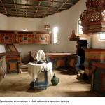 Thaler Tamás_Szentendre skanzenban a Mádi református templom belseje
