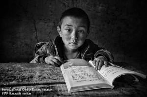 Hong-Li (China): Child-on-Daliang-mountain