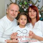 Szarka Lajos és családja