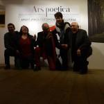Ars-Poetica-kiállításmegnyitó-térdelők (Olasz-Ági-felvétele)