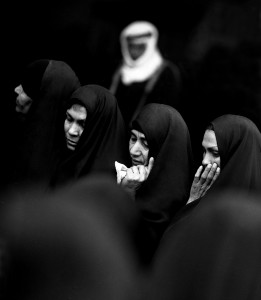 Eifert János: Iraki asszonyok / Women from Iraque (Bagdad, 1975)