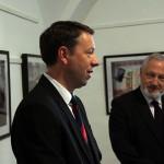 2017.03.13.-Reguly-Antal-Múzeum_Ottó-Péter-Zirc-polgármestere és Dr. Hafenscher Károly miniszteri biztos (Eifert János felvétele)