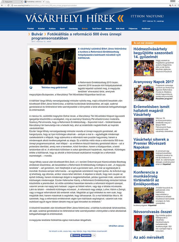 2017.03.13.-Vásárhelyi-Hírek_Fotókiállítás-a-reformáció-500-éves-ünnepi-programsorozatában