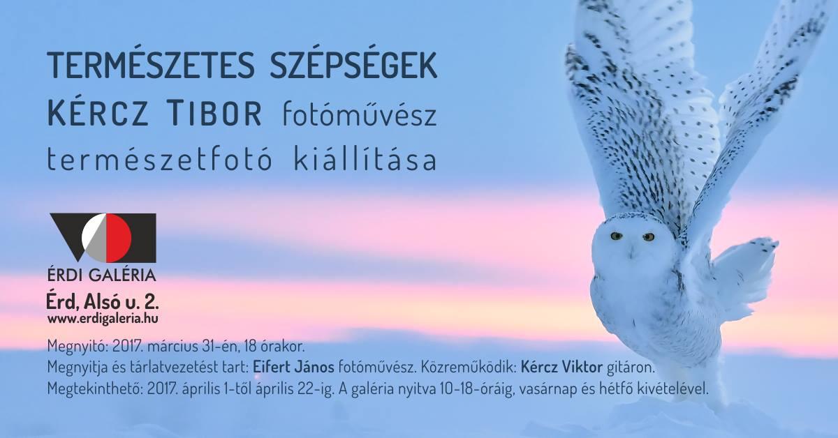 Kércz Tibor _Természeti szépségek kiáll.meghívó