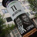 2017.04.15.-Kossuth-téri Jobbikos plakát: Ti dolgoztok, Ők lopnak (Eifert János felvétele)