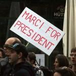 2017.04.15.-Kossuth-téri-tüntetésen: Marci-for-President (Eifert János felvétele)