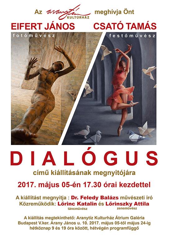 2017.05.05.-Aranytíz_Dialógus_Eifert János és Csató Tamás kiállítása