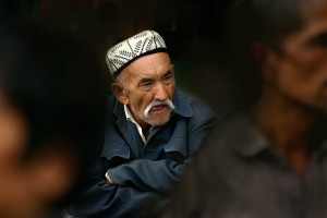 Eifert János: Ujgur férfi Kashgárból / Uygur man, Kashgar China, 2006)