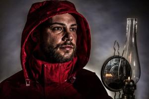 Hámor-Szabolcs: Fishermann-in-storm