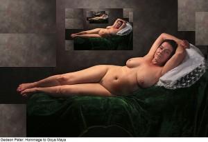 Gedeon-Péter_Homage-to-Goya-Maya