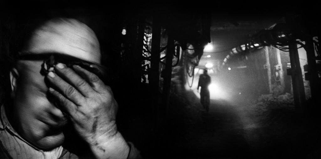 Eifert János: Szénbányában / Coal Mine (Recsk, 1978)