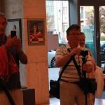 2017.09.04.-OTPbank-Galéria,-Eifert-és-Csató-Tamás-kiállításmegnyitón-Erhardt-László-és-Szőnyi-István (Eifert János felvétele)