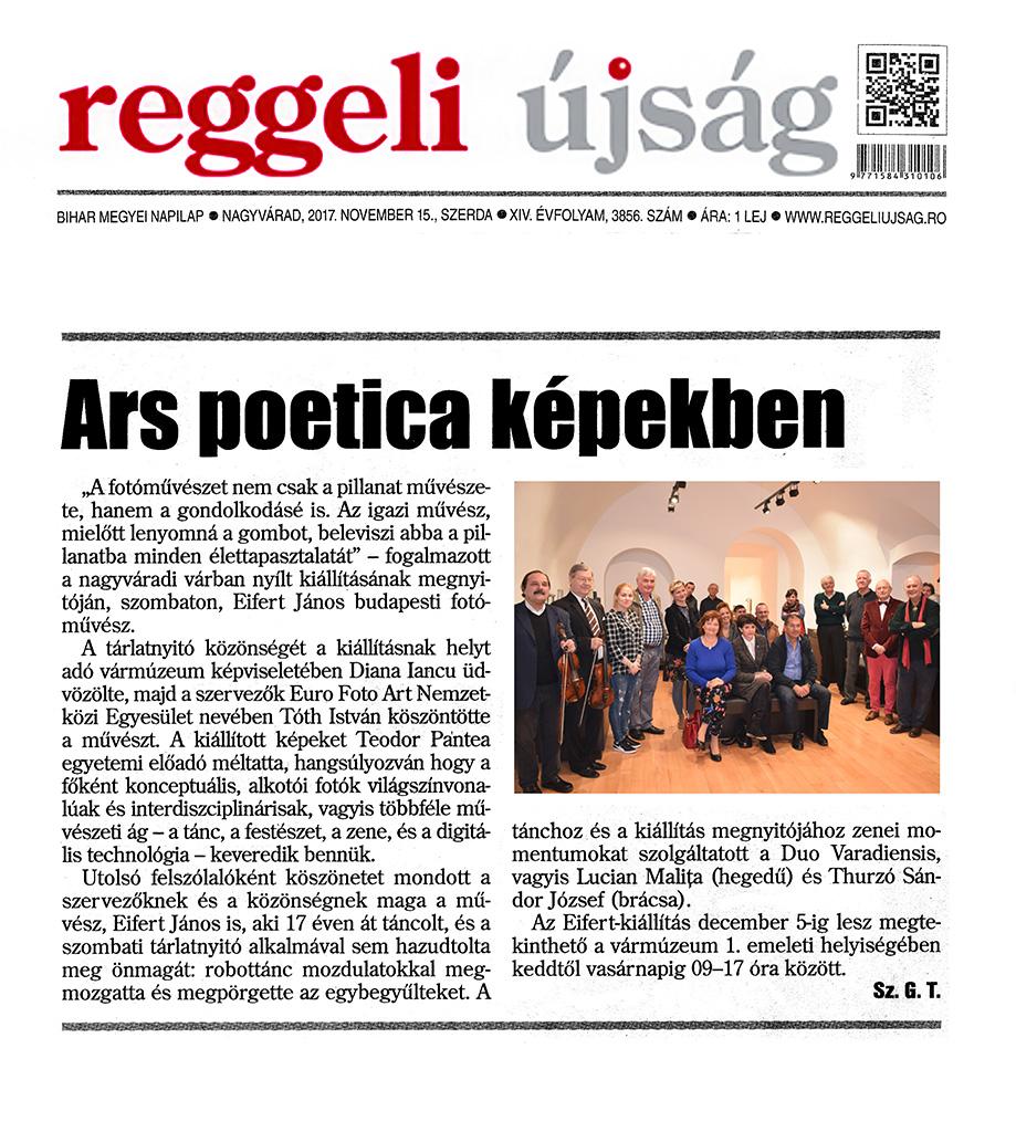 2017.11.15.-Reggeli-Újság,-Nagyvárad_Ars-poetica-képekben
